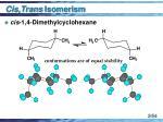 cis trans isomerism54