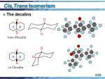 cis trans isomerism55