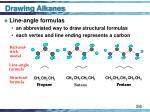 drawing alkanes