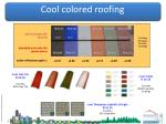 cool colored roofing