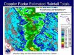 doppler radar estimated rainfall totals11