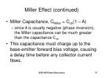 miller effect continued17