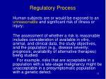 regulatory process12