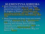 klementyna sobieska3