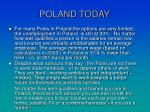 poland today