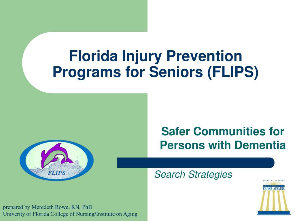 florida injury prevention programs for seniors flips l.
