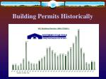 building permits historically