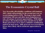 the economists crystal ball60