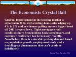 the economists crystal ball61