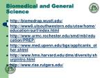 biomedical and general science24