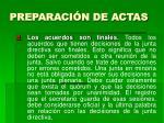 preparaci n de actas21