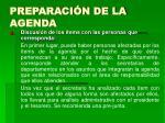 preparaci n de la agenda10