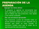 preparaci n de la agenda11