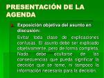 presentaci n de la agenda14