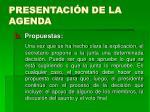presentaci n de la agenda15
