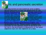 gastric and pancreatic secretion9