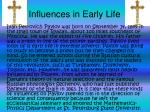 influences in early life
