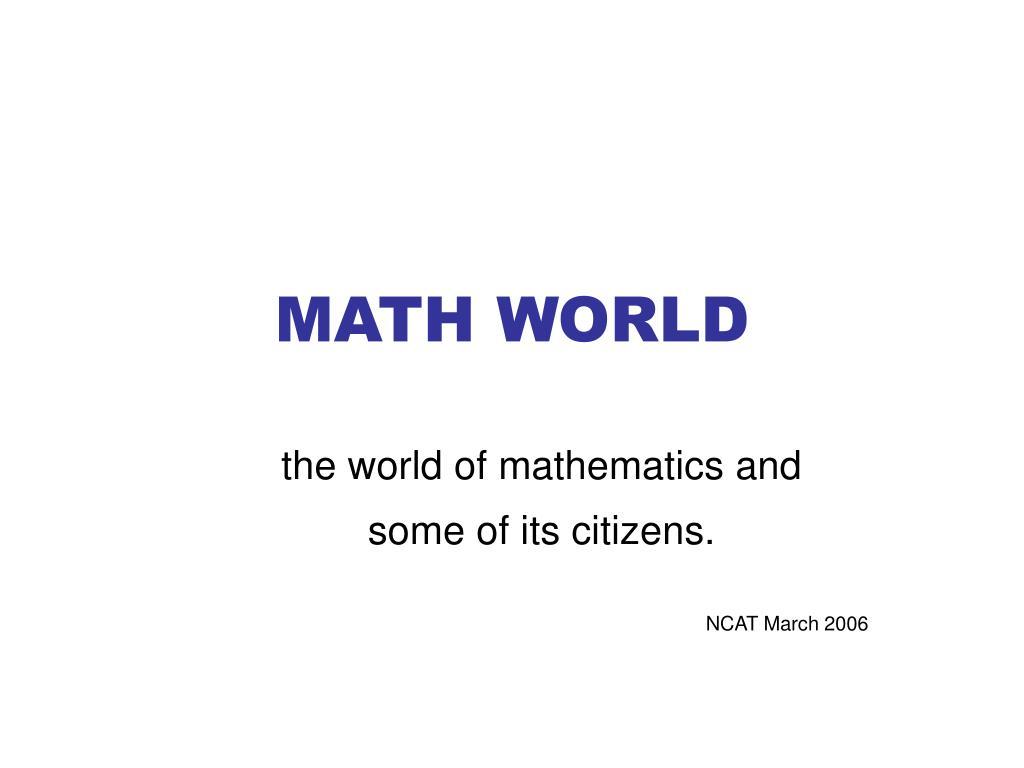 math world l.
