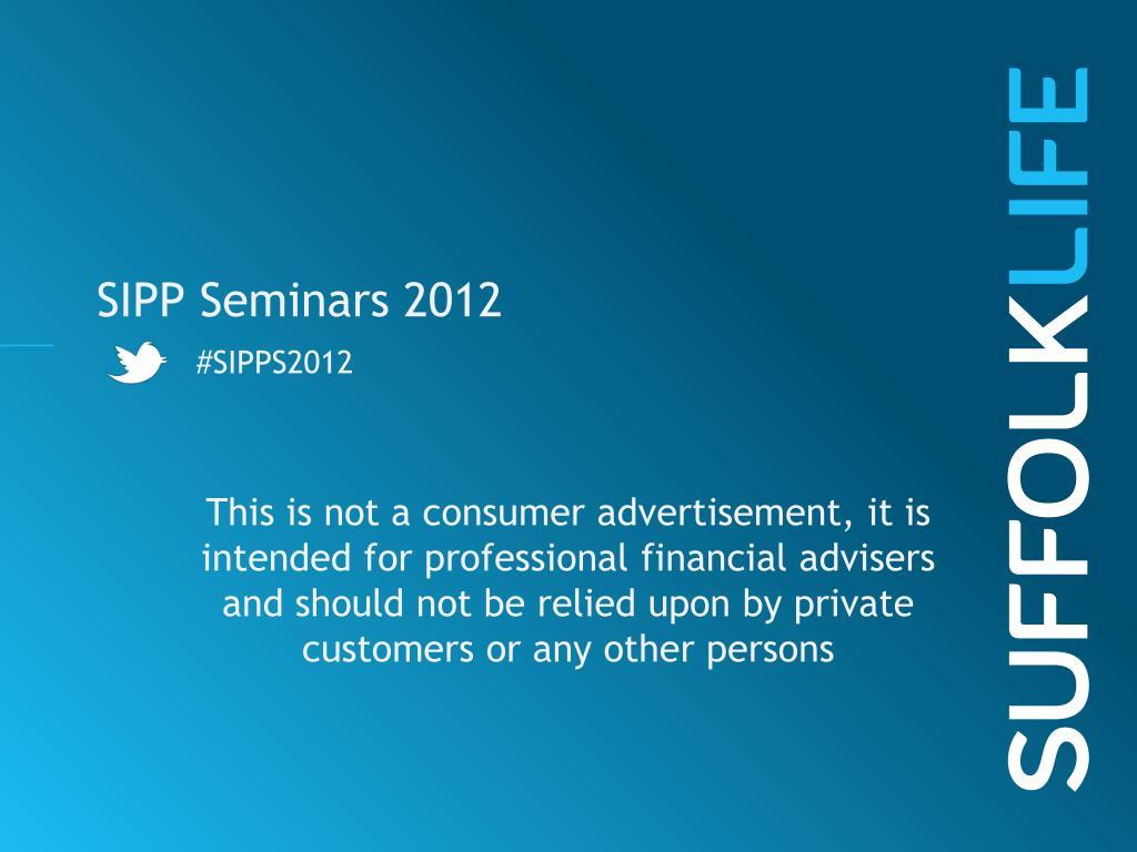 sipp seminars 2012 sipps2012 l.