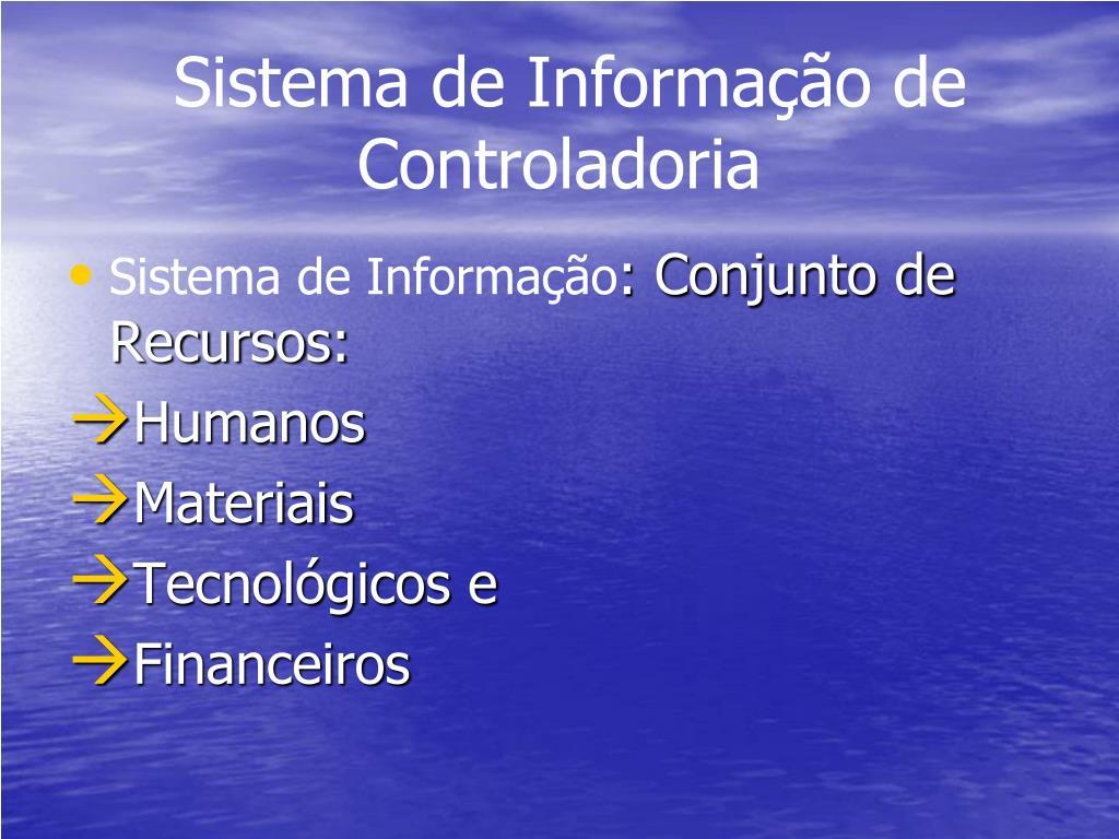 sistema de informa o de controladoria l.
