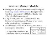 sentence mixture models82