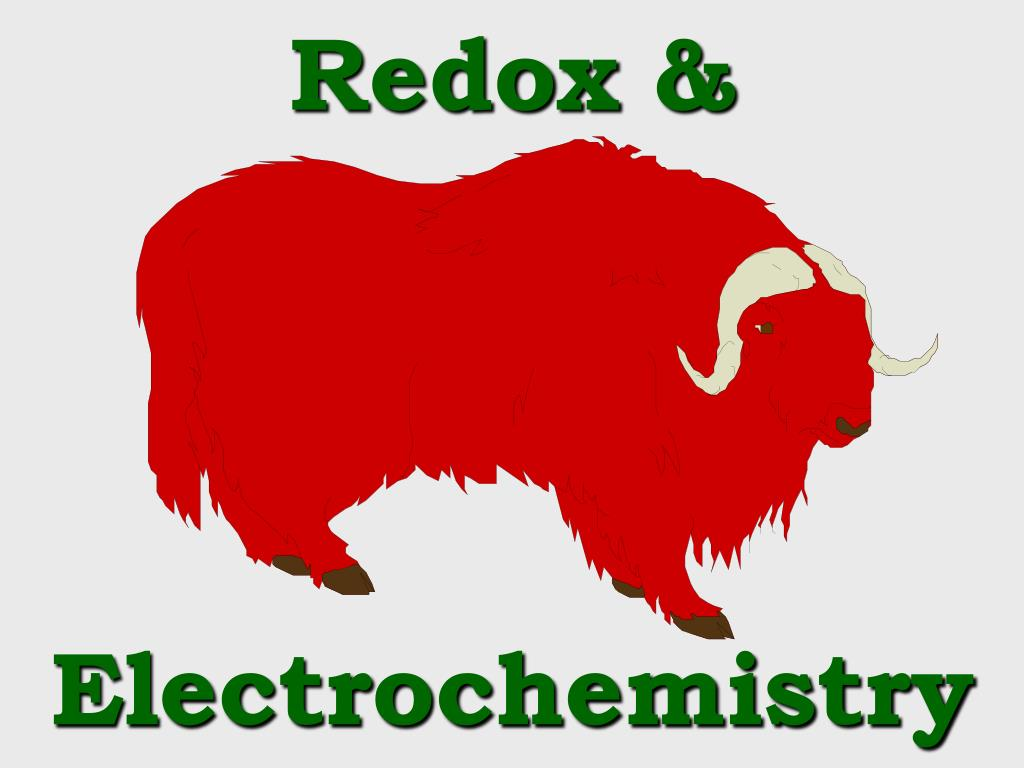 redox electrochemistry l.