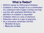 what is redox