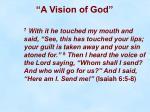 a vision of god15