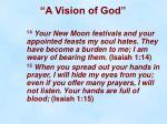 a vision of god8