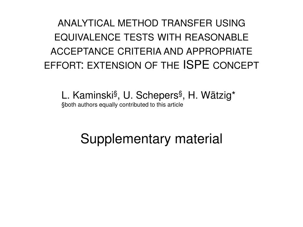 supplementary material l.