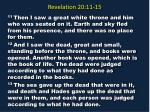 revelation 20 11 15