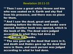 revelation 20 11 1514