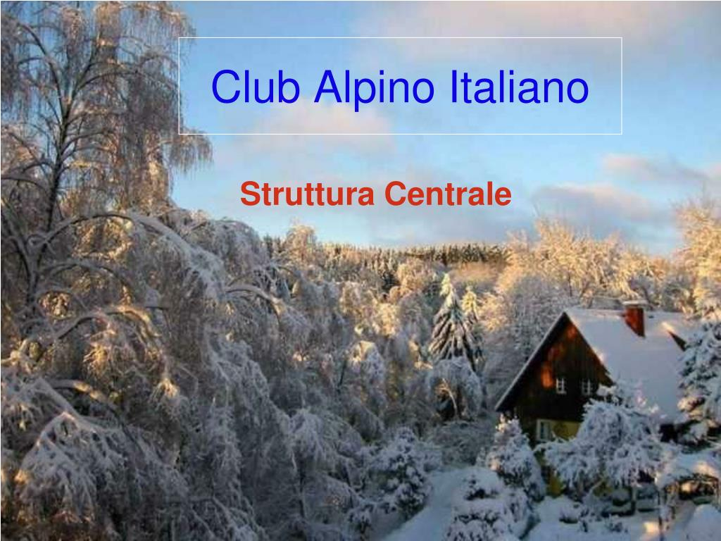 club alpino italiano l.