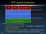 ppp layered architecture7