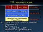 ppp layered architecture8