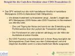 beispiel f r die cash flow struktur einer cdo transaktion 2
