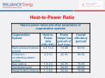 heat to power ratio29