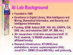 ai lab background