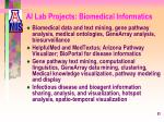 ai lab projects biomedical informatics