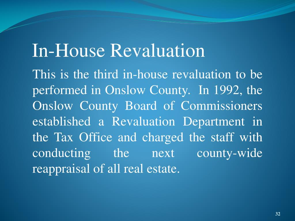In-House Revaluation