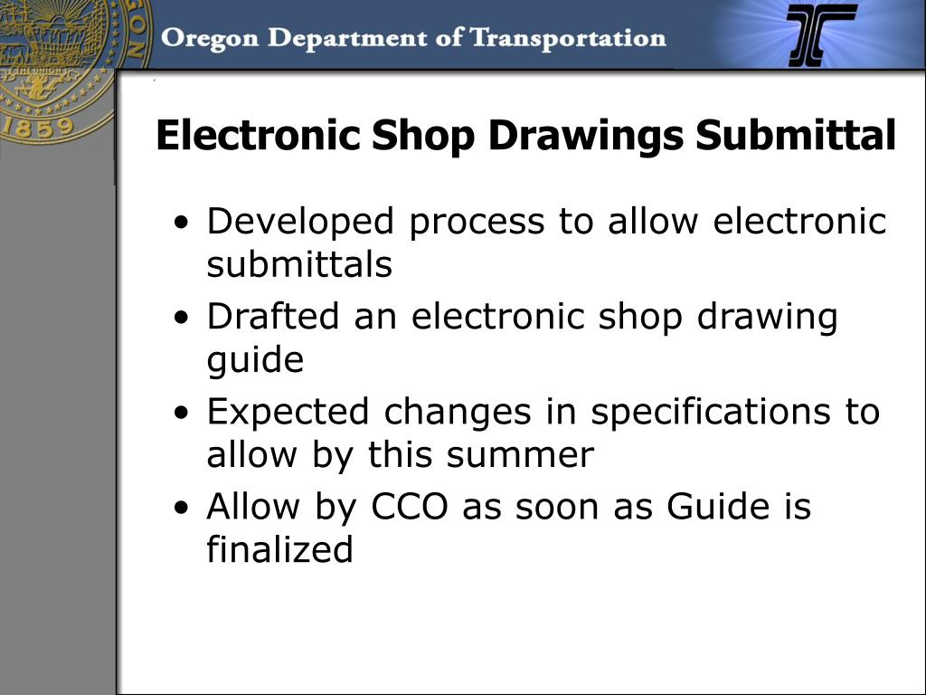 Electronic Shop Drawings Submittal