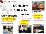uc action features