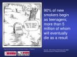 smokers begin as teenagers