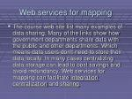 web services for mapping22