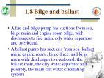 1 8 bilge and ballast