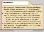 alternate jurors32