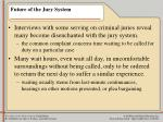 future of the jury system