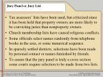 jury panel or jury list11
