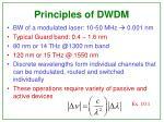 principles of dwdm