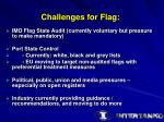 challenges for flag